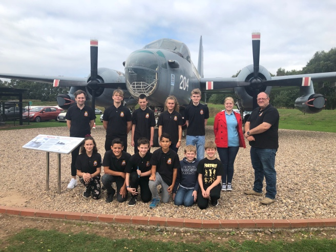 Cadets visit RAF Museum Cosford